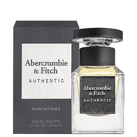 Authentic Eau de Toilette Abercrombie & Fitch 30ml - Perfume Masculino
