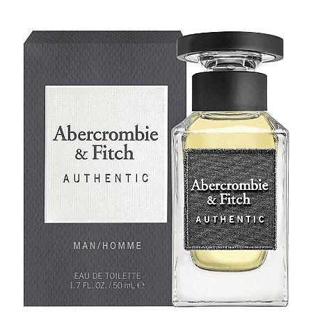 Authentic Eau de Toilette Abercrombie & Fitch 50ml - Perfume Masculino