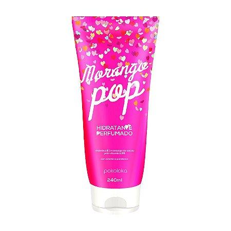 Hidratante Perfumado Morango Pop Pokoloka 240ml