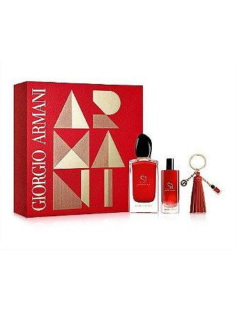 Kit Sì Passione Giorgio Armani Eau de Parfum 100ml + Miniatura 15ml + Chaveiro - Feminino