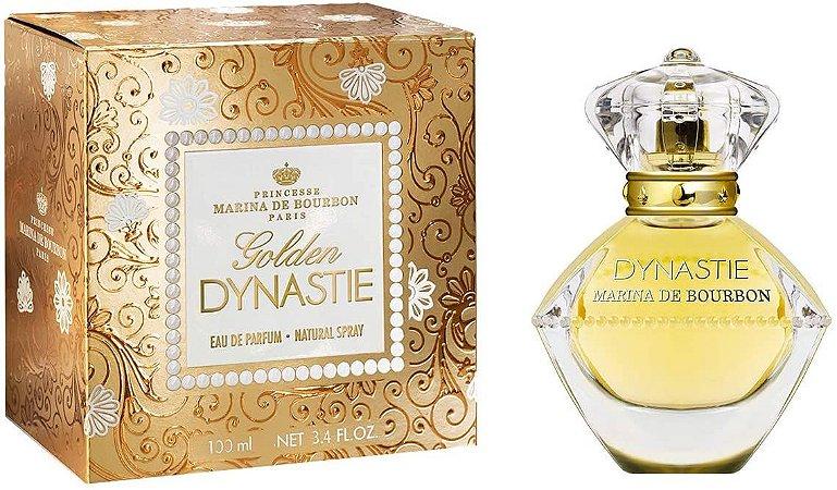 Golden Dynastie Eau de Parfum Marina de Bourbon 100ml - Perfume Feminino