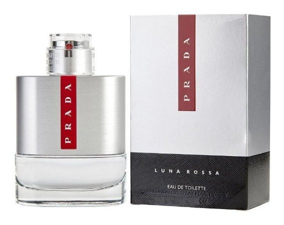 Luna Rossa Eau de Toilette Prada 50ml - Perfume Masculino