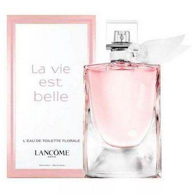 La Vie Est Belle L'Eau de Toilette Florale Lancôme 50ml - Perfume Feminino