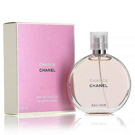 Chance Eau Vive Eau de Toilette Chanel 50ml - Perfume Feminino
