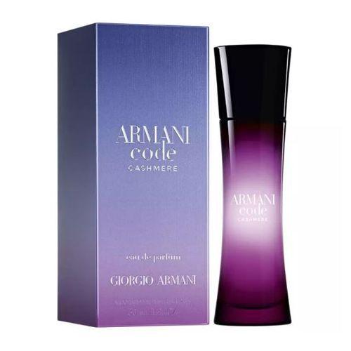 Armani Code Cashmere Eau de Parfum Giorgio Armani 50ml - Perfume Feminino