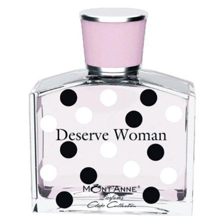 Tester Deserve Woman Eau de Parfum Mont'Anne 100ml - Perfume Feminino