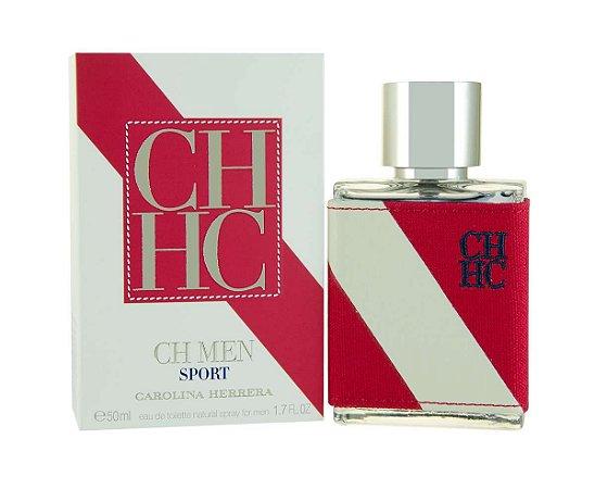 CH Men Sport Eau de Toilette Carolina Herrera 50ml - Perfume Masculino