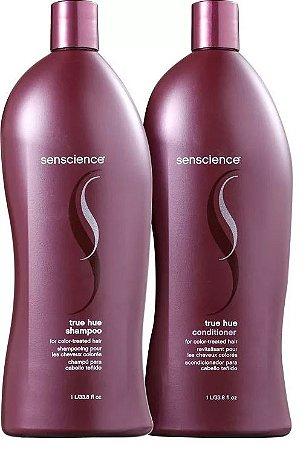 Kit Senscience True Hue - Shampoo e Condicionador - 1 Litro Cada