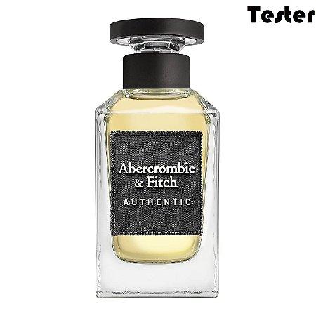Tester Authentic Eau de Toilette Abercrombie & Fitch 100ml - Perfume Masculino