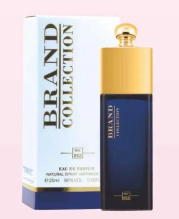 Nº 052 Eau de Parfum Brand Collection 25ml - Perfume Feminino