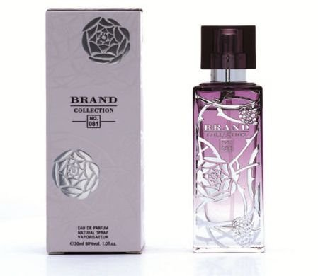 Nº 081 Eau de Parfum Brand Collection 25ml - Perfume Feminino