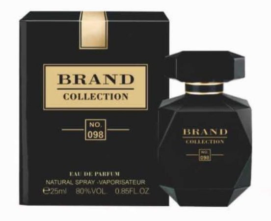 Nº 098 Eau de Parfum Brand Collection 25ml - Perfume Feminino