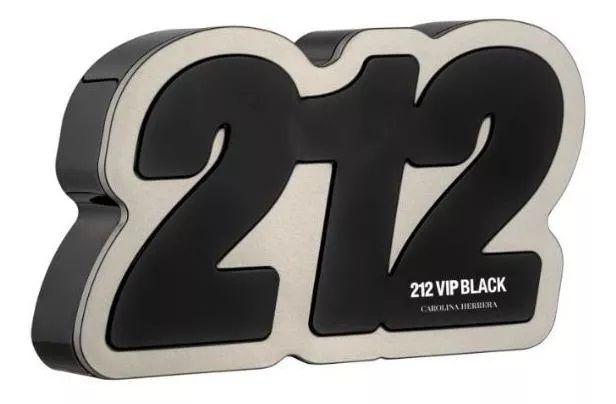 Kit 212 Vip Black Eau de Parfum Carolina Herrera - Perfume Masculino 100ml + Gel de Banho