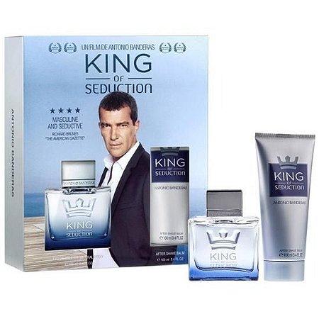 Kit King of Seduction EDT Antonio Banderas 100ml + Desodorante Body Spray 150ml - Masculino