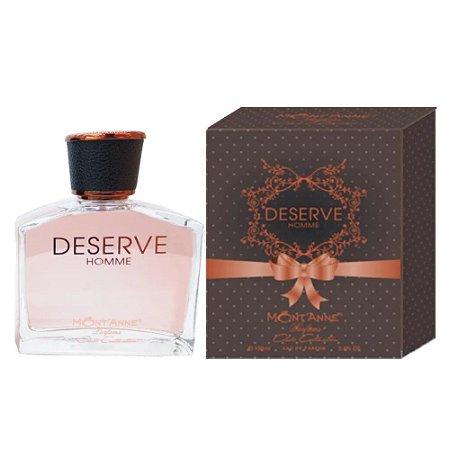 Deserve Homme Eau de Parfum Mont'anne 100ml - Perfume Masculino