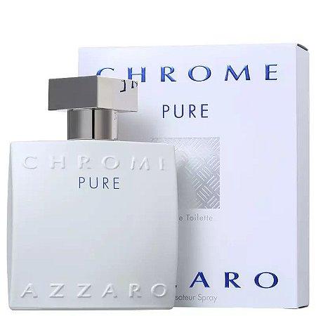 Azzaro Chrome Pure Eau de Toilette 100ml - Perfume Masculino
