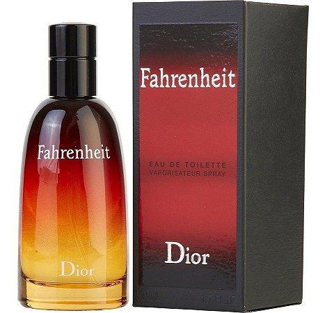 Fahrenheit Eau de Toilette Dior 50ml - Perfume Masculino