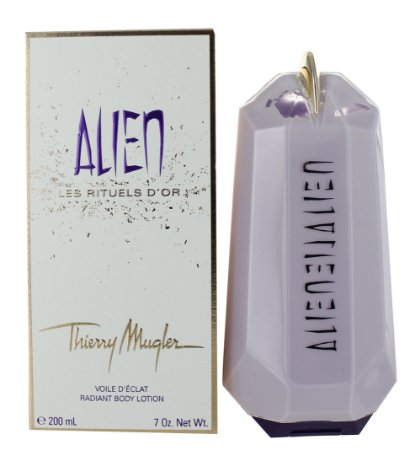 Alien Radiant Body Lotion Les Rituels D'or Tierry Mugler 200ml - Loção Corporal