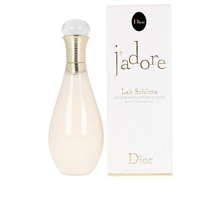 J'adore Lait Sublime Dior 200ml - Loção Hidratante
