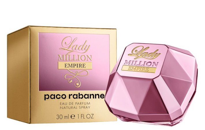 Lady Million Empire Eau de Parfum Paco Rabanne 30ml - Perfume Feminino