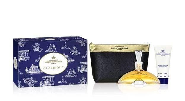 Kit Classique Marina de Bourbon Eau de Parfum 100ml + Loção 100ml + Nécessaire - Feminino