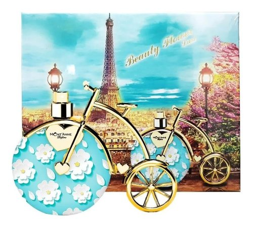 Beauty Flower Mont'anne Eau de Parfum 100ml - Perfume Feminino