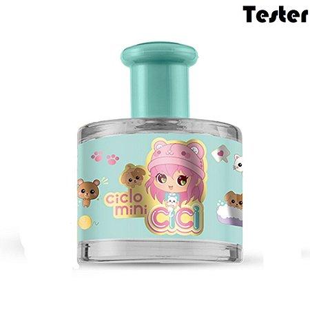 Tester Deo Colônia Cici Zoe 100ml - Perfume infantil