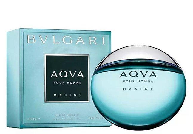 Aqva Marine Eau de Toilette Bvlgari 100ml - Perfume Masculino