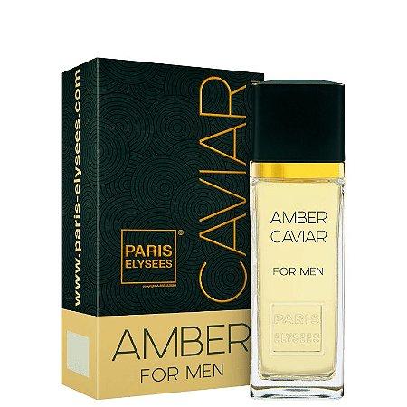 Amber Caviar Eau de Toilette Paris Elysees 100ml - Perfume Masculino