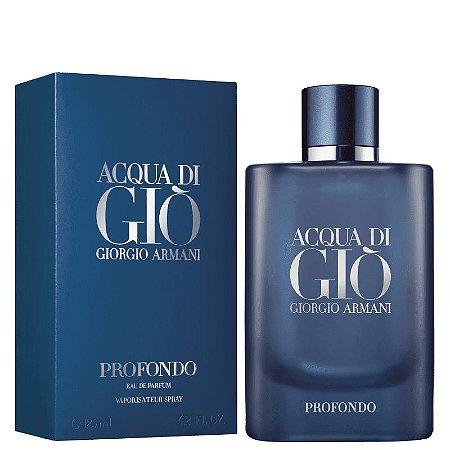 Acqua di Giò Profondo Eau de Parfum Giorgio Armani 125ml - Perfume Masculino
