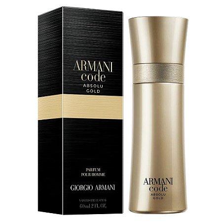 Code Absolu Gold Giorgio Armani Eau de Parfum - Perfume Masculino 60ml