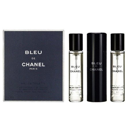 Kit Bleu Pour Homme Eau de Toilette Chanel 3 x 20ml - Perfume Masculino