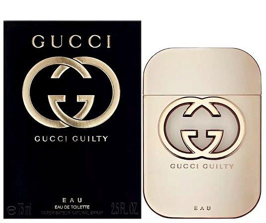 EAU Gucci Guilty Eau De Toilette 75ml - Perfume Feminino