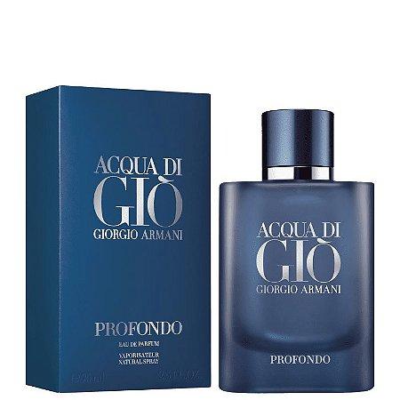 Acqua di Giò Profondo Eau de Parfum Giorgio Armani 75ml - Perfume Masculino