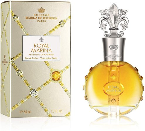 Royal Marina Diamond Eau de Parfum Marina de Bourbon 50ml - Perfume Feminino