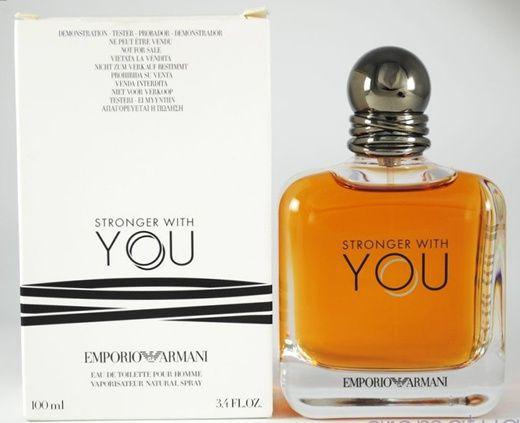 Tester Stronger With You EDT Emporio Armani 100ml - Perfume Masculino
