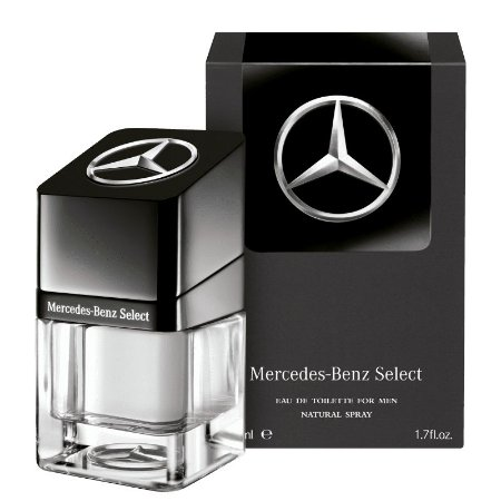Mercedes-Benz Select Eau de Toilette 50ml - Perfume Masculino