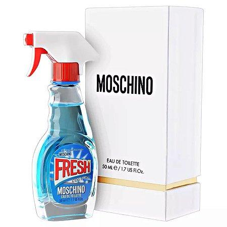 Fresh Couture Eau de Toilette Moschino 50ml - Perfume Feminino