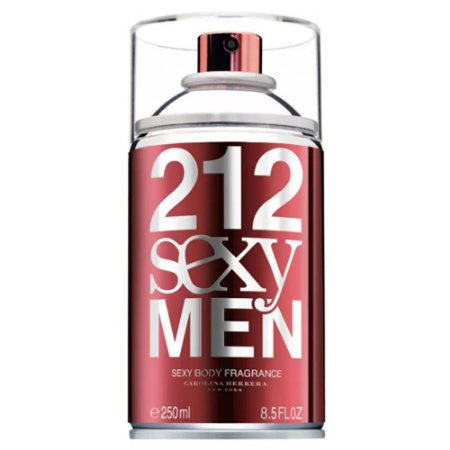 Body Spray 212 Sexy Men Carolina Herrera 250ml - Masculino