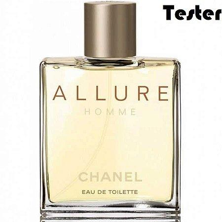Tester Allure Homme Eau de Toilette Chanel 50ml - Perfume Masculino