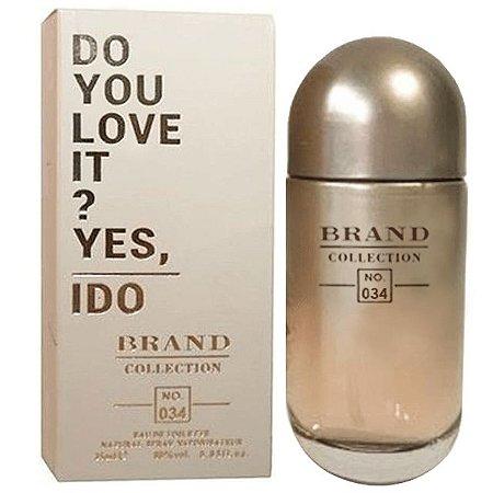 Nº 034 Rose Dream Parfum Brand Collection 25ml - Perfume Feminino