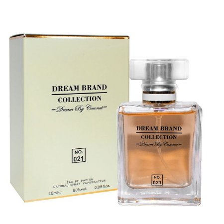 Nº 021 Dream by Coconut Parfum Brand Collection 25ml - Perfume Feminino