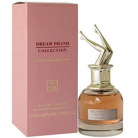 Nº 136 Scandal Parfum Brand Collection 25ml - Perfume Feminino