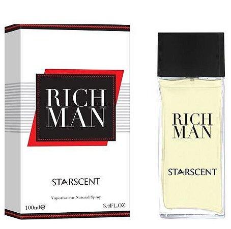 Rich Man Eau de Parfum Starscent 100ml - Perfume Masculino