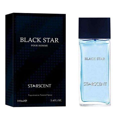 Black Star Eau de Parfum Starscent 100ml - Perfume Masculino