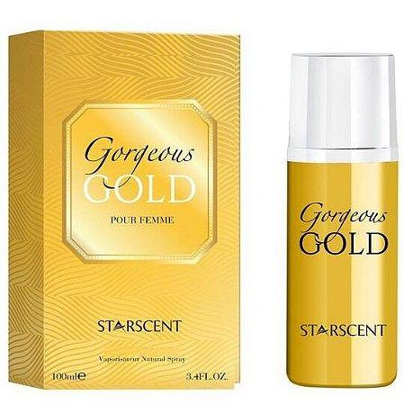 Gorgeous Gold Eau de Parfum Starscent 100ml - Perfume Feminino