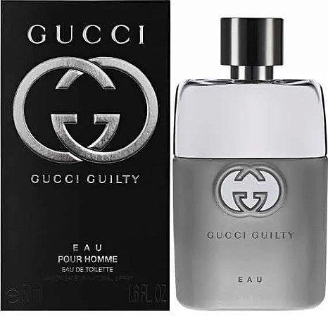 EAU Gucci Guilty Eau De Toilette 50ml - Perfume Masculino