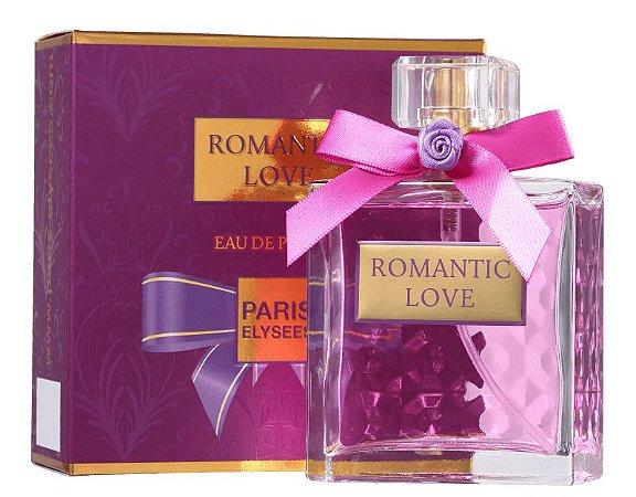 Romantic Love Eau de Parfum Paris Elysees 100ml - Perfume Feminino