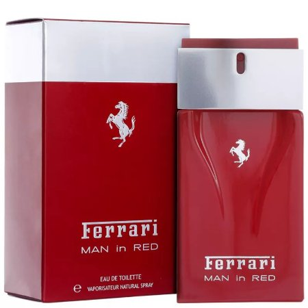 Man in Red Ferrari Eau de Toilette 100ml - Perfume Masculino