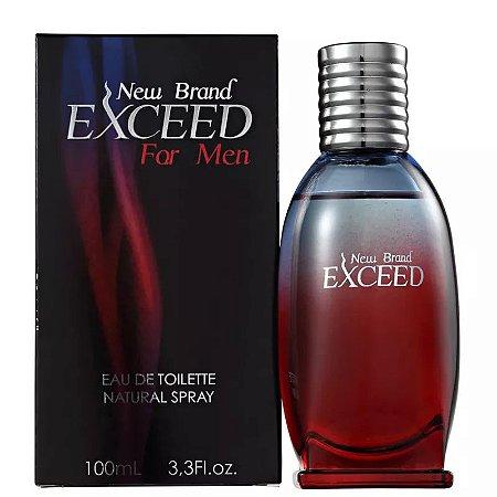 Exceed Eau de Toilette New Brand 100ml - Perfume Masculino